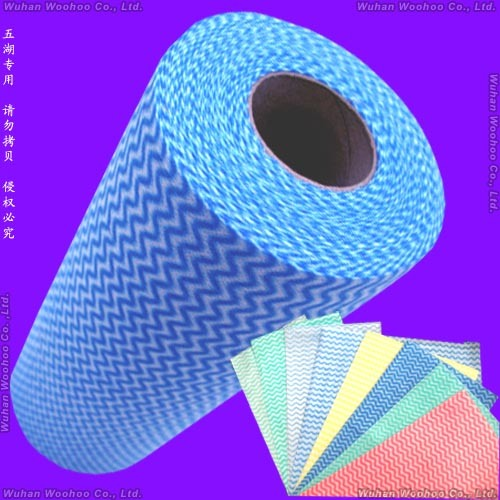 Multipurpose Spunlace Nonwoven Clean up Rolled Cloth