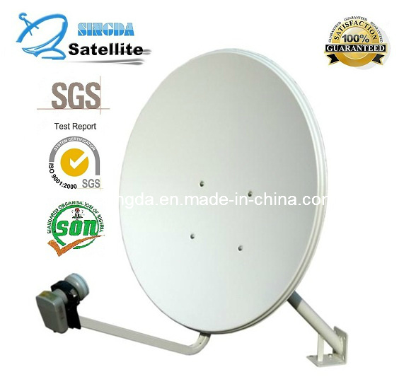 Ku band 90cm Satellite Antenna with SGS Certification