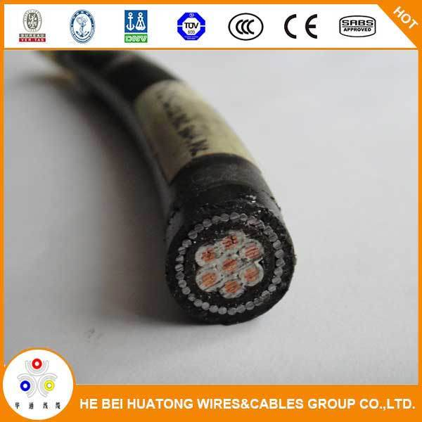 0.6/1kv 4 Core PVC or XLPE Insulated Armored Copper Electric Power Cable