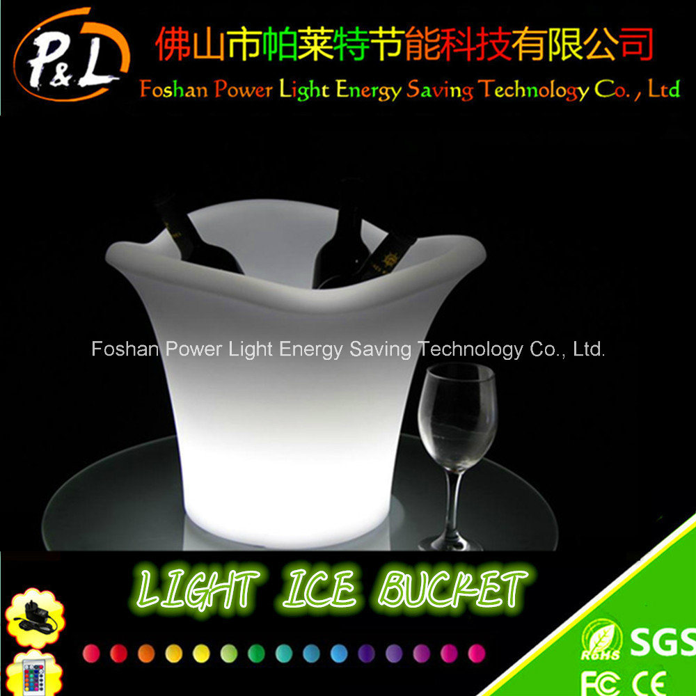 Glow Ice Bucket LED Beer Ice Bucket LED Flashing Ice Bucket