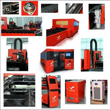 Perfect Laser 2 Years Warranty 500W 1000W 2000W Metal Fiber Laser Cutting Machine