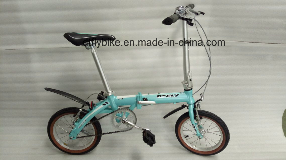 Folding Bike, Alloy Folding, Single Speed,