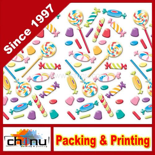Custom Print Puffy Classic Stickers (440026)