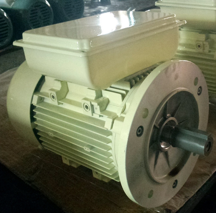Single Phase AC Motor (Flange mount, aluminum housing, 0.12- 7.5kW)