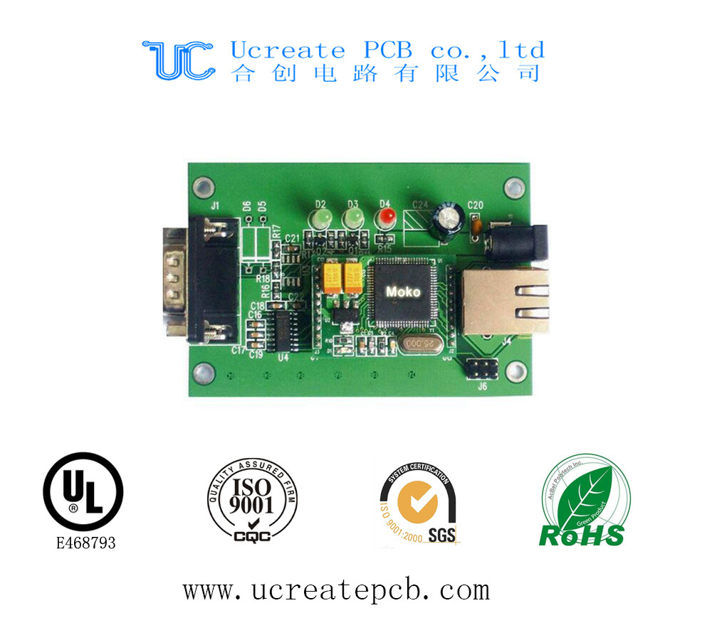 Multilayer Security CCTV Printed Circuit Board with High Quality