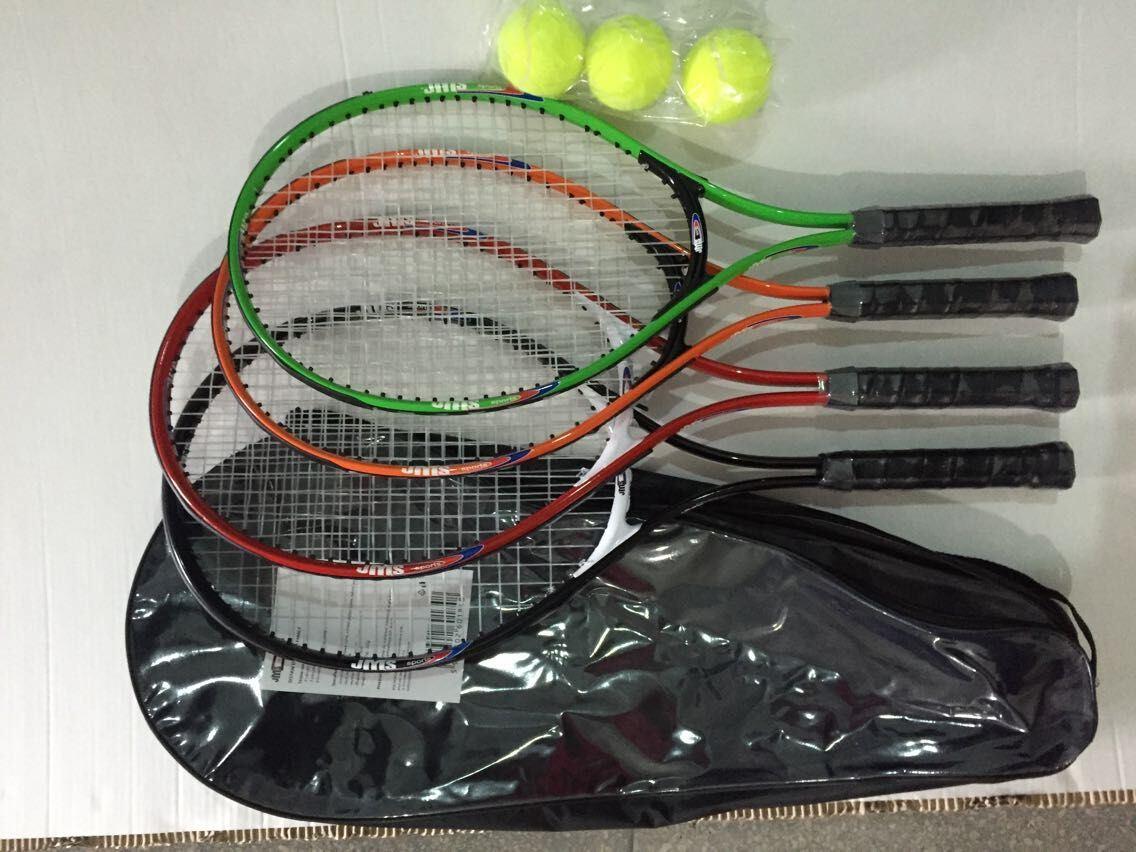 4PCS Family Tennis Racket Combo