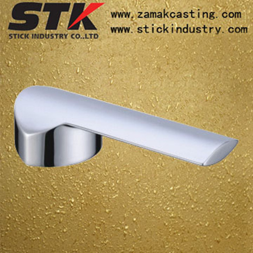 Zinc Faucet Handle for Bathroom Accessories (ZF1001)