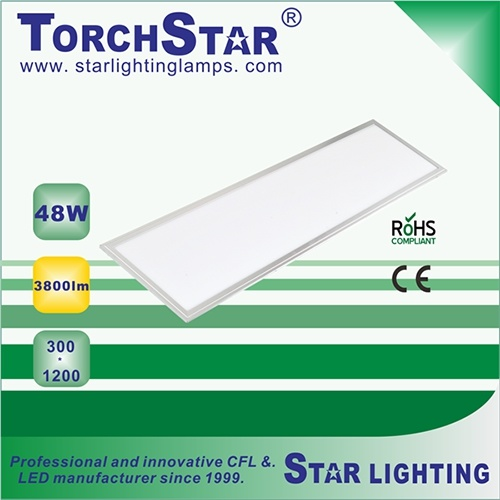 High Power 300X1200mm 48W LED Panel Light