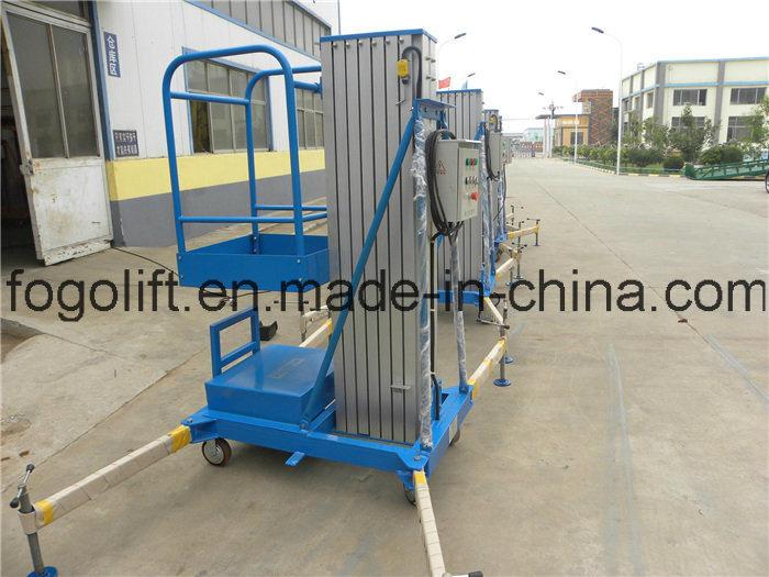 Single Mast Hydraulic Electirc Aerial Platform Passenger Elevator / Lifter