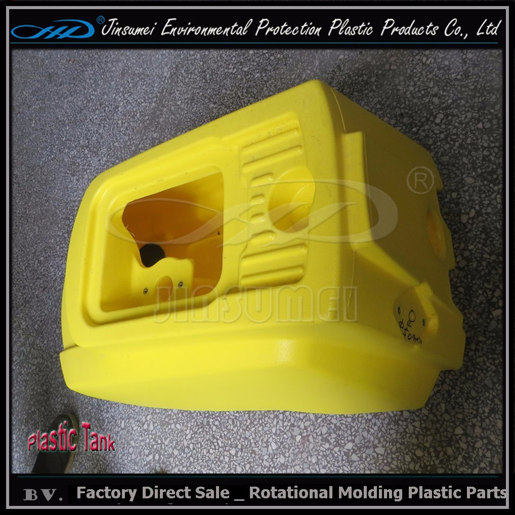 Customized Cleaning Facility Scrubber with Rotational Molding Making