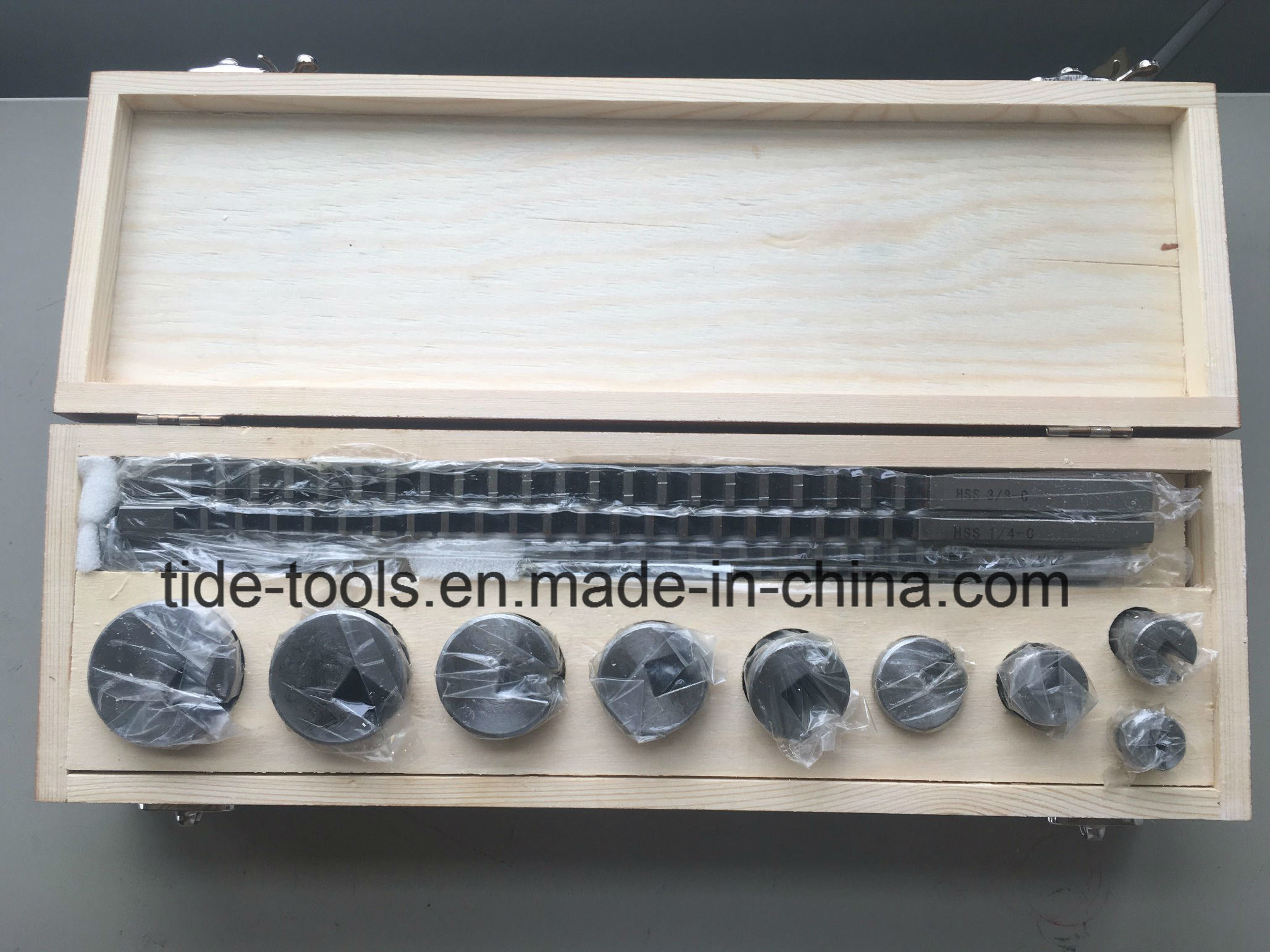 High Speed Steel Metric/Inch Keyway Broaches