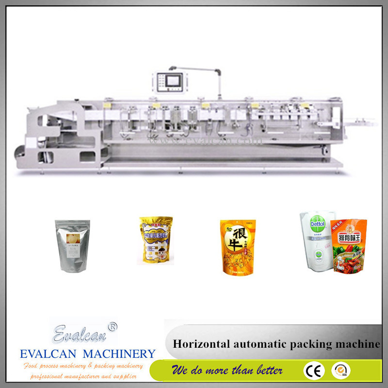 Automatic Powder Form Fill Seal Packing Machine with Zipper Stand up Pouch