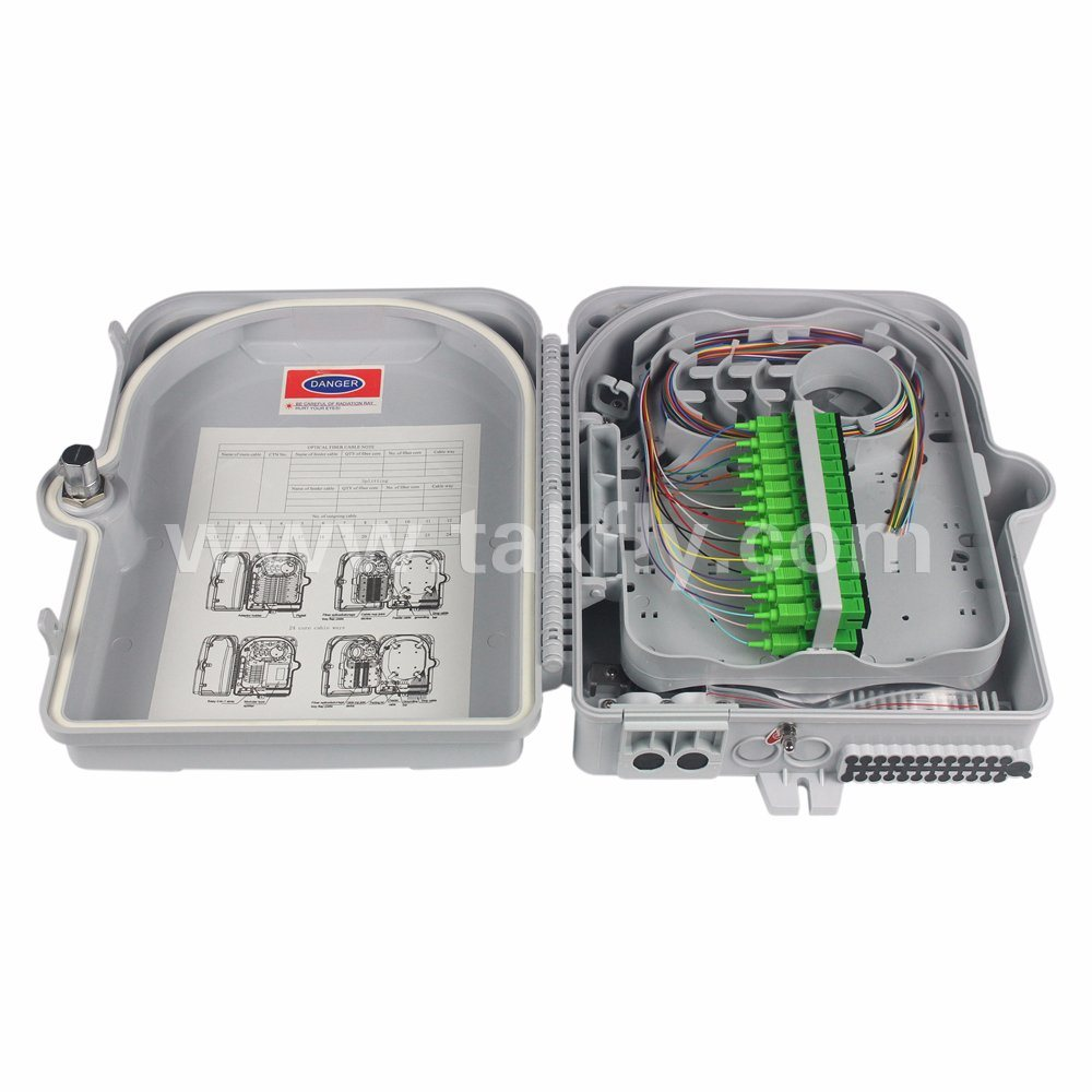 24 Cores FTTX Fiber Optic Termination Box