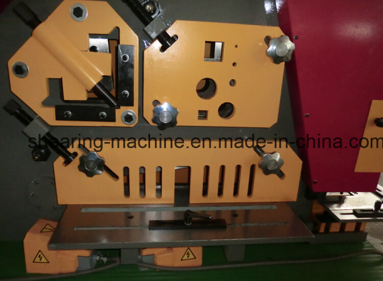 Q35y-16 Hydraulic Iron Worker United Punching and Shearing Machine