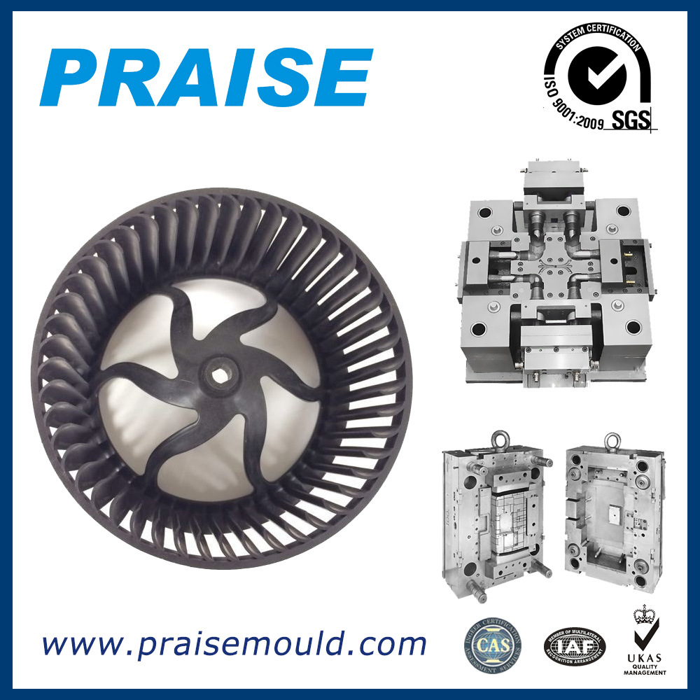 High Quality Plastic Injection Air Conditioning Parts Moulds for Auto Parts Factory Price