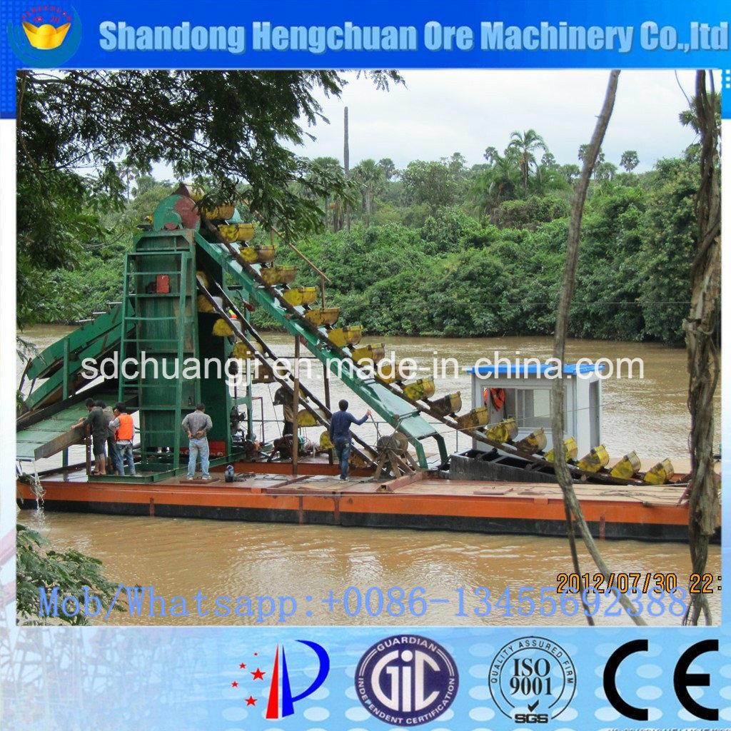 Multipurpose Bucket Chain Dredger for Sale and River Gold Dredger