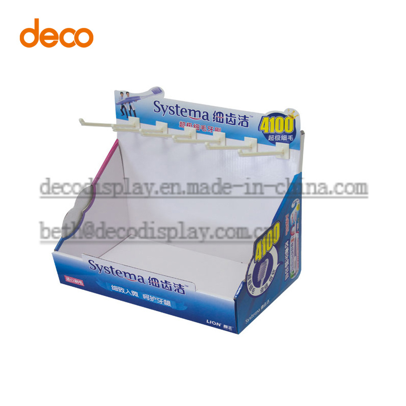 Display Box Cardboard Counter Display for Retail