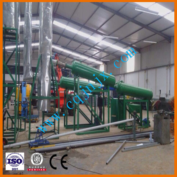 Automatic Plastic Tyre Pyrolysis Oil Converting to Diesel Plant