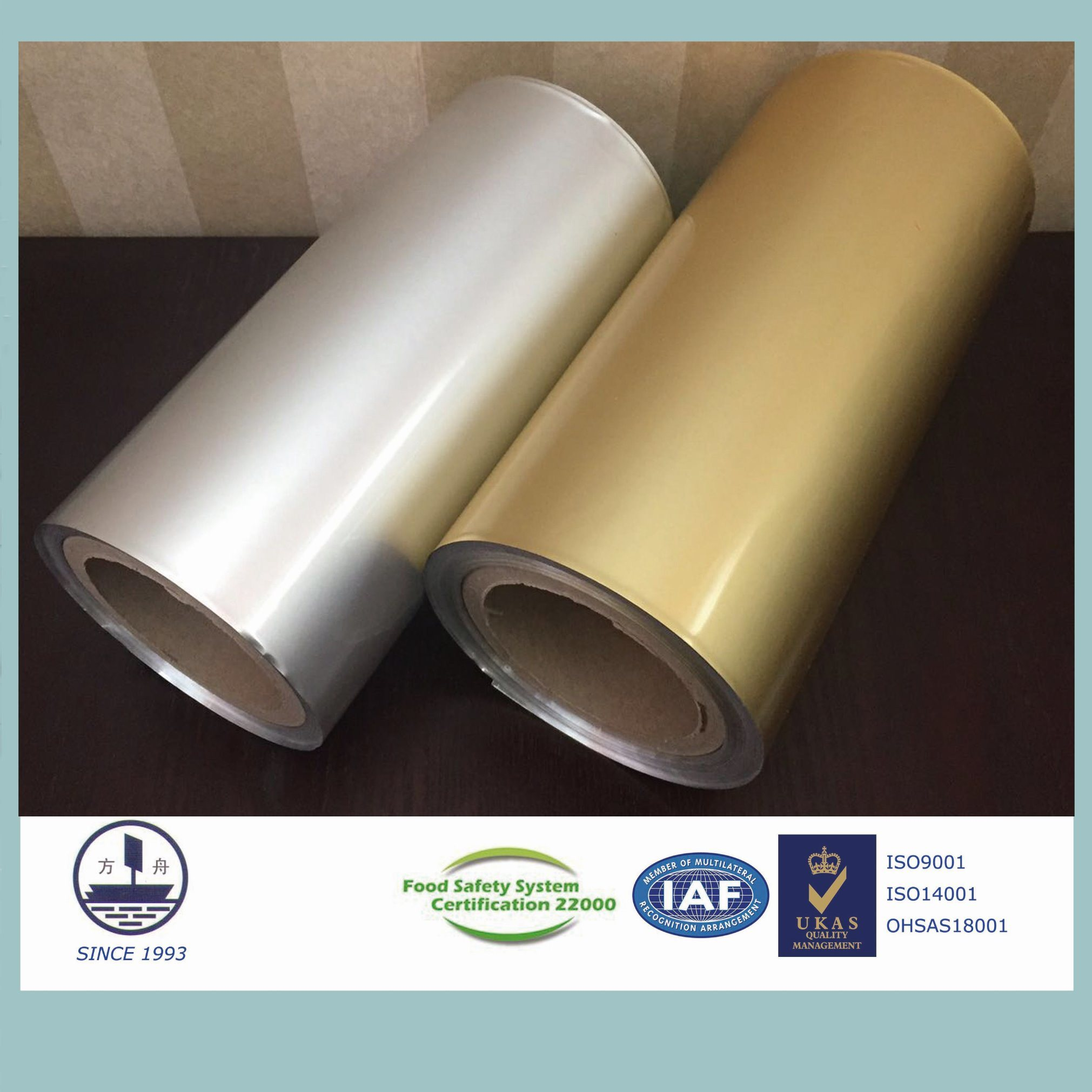 Cold-Stamping Molding Aluminum Foil for Packaging Tablets (Alloy 8021)