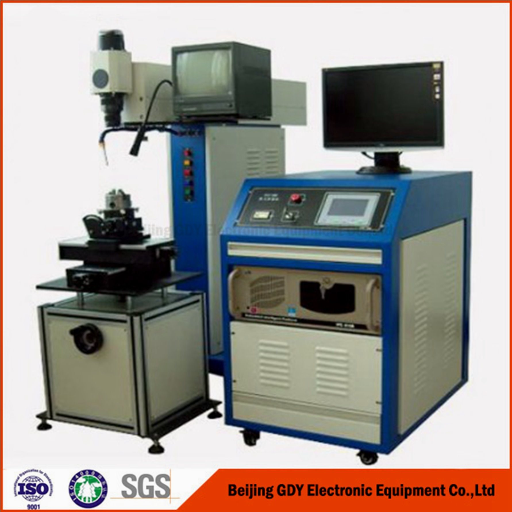 0.025mm Thin Diaphragm Laser Machinery for Welding