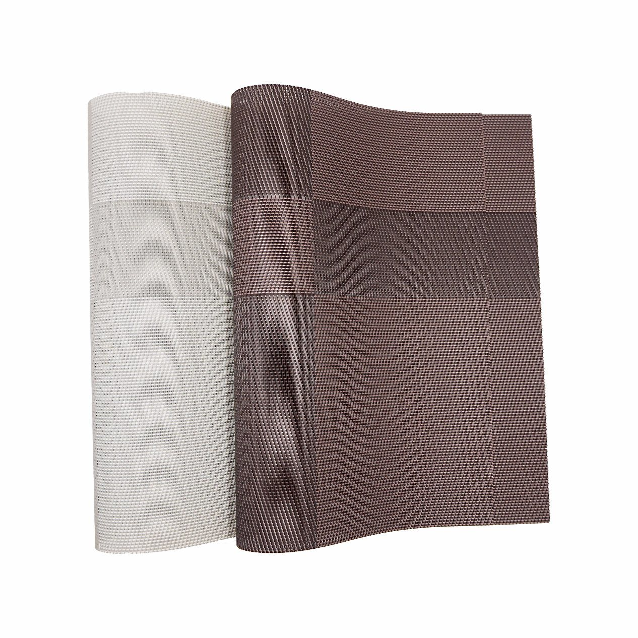 Jacquard Weave Insulation Anti-Skid PVC Woven Mat for Tabletop