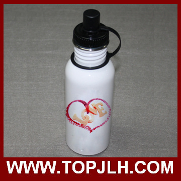 600ml Stainless Steel Sport Canteen Water Bottle