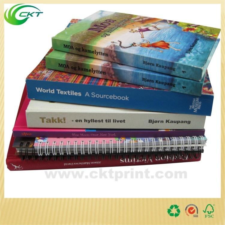 Customized Cmyk Color Hardback Book Printing Service (CKT-BK-820)
