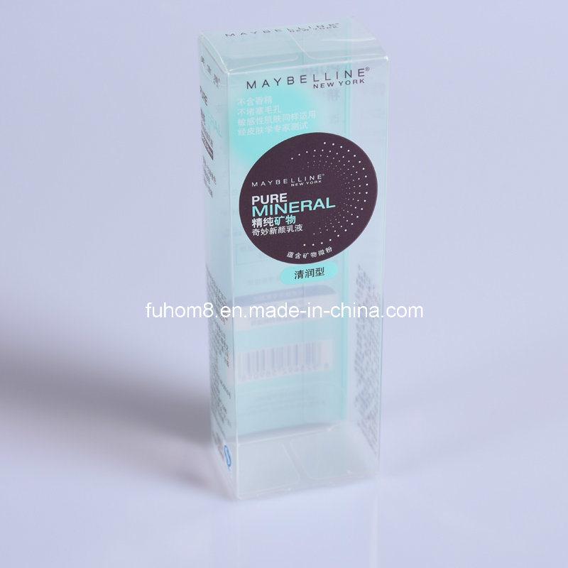 Custom Clear Foldable Printing PP/PVC/PET Plastic Packaging Box