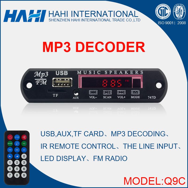 MP3 USB SD/TF Audio Player Decoder Chip