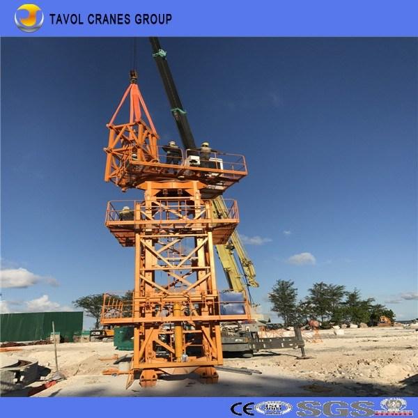 Topless Tower Crane 5610 Model Hot Sale