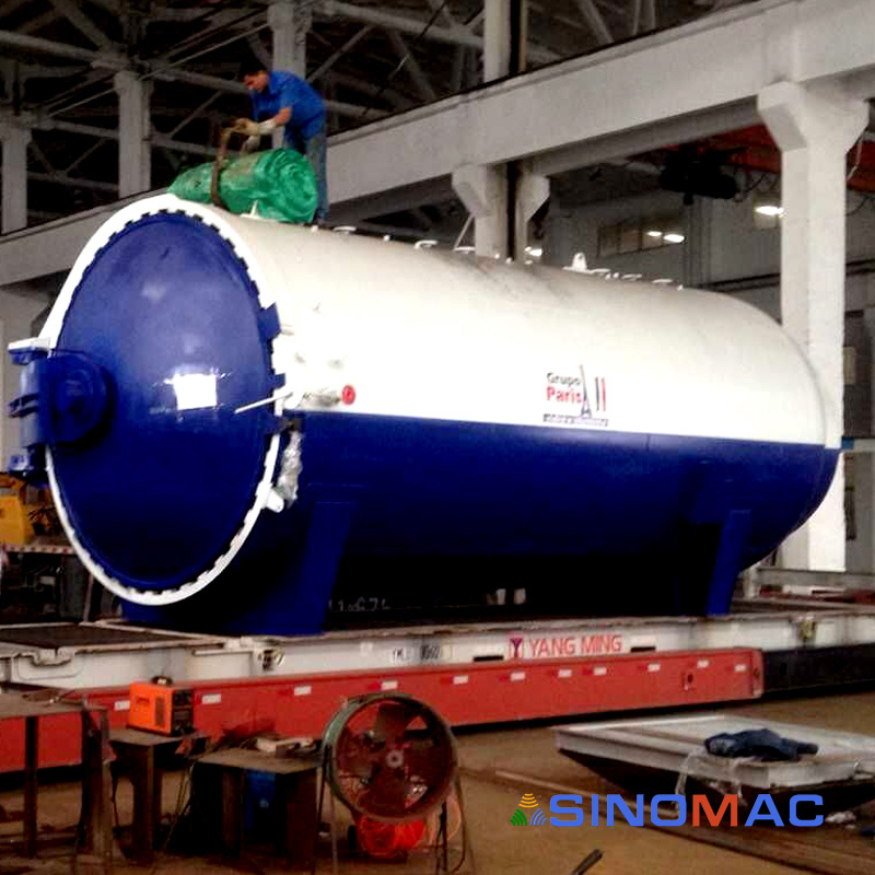SINOMAC 3000X6000mm Glass Laminated Autoclave (SN-BGF3060)