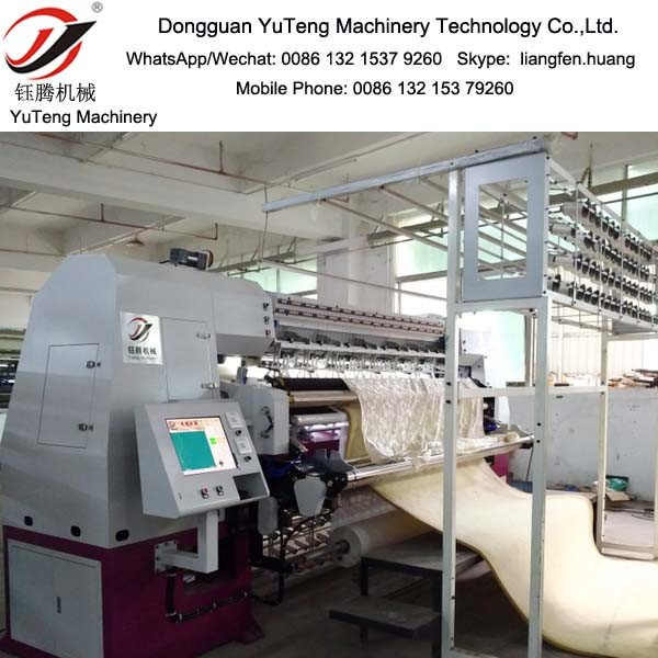 High-Speed Automatic Chain Stitch Multi-Needle Quilting Machine Ytnc96-3-6
