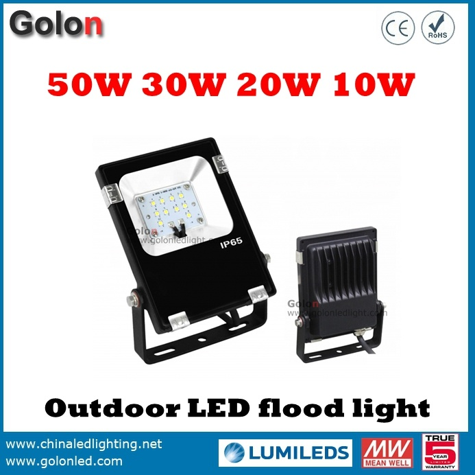 LED Light to Replace 250W Halogen Light Low Price Slim LED Flood Lighting 50W