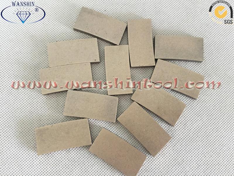 China Diamond Segment Granite Segment Sandstone Segment