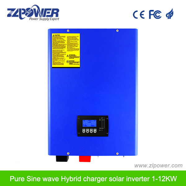 Pure Sine Wave Solar Power Inverter with MPPT Solar Controller