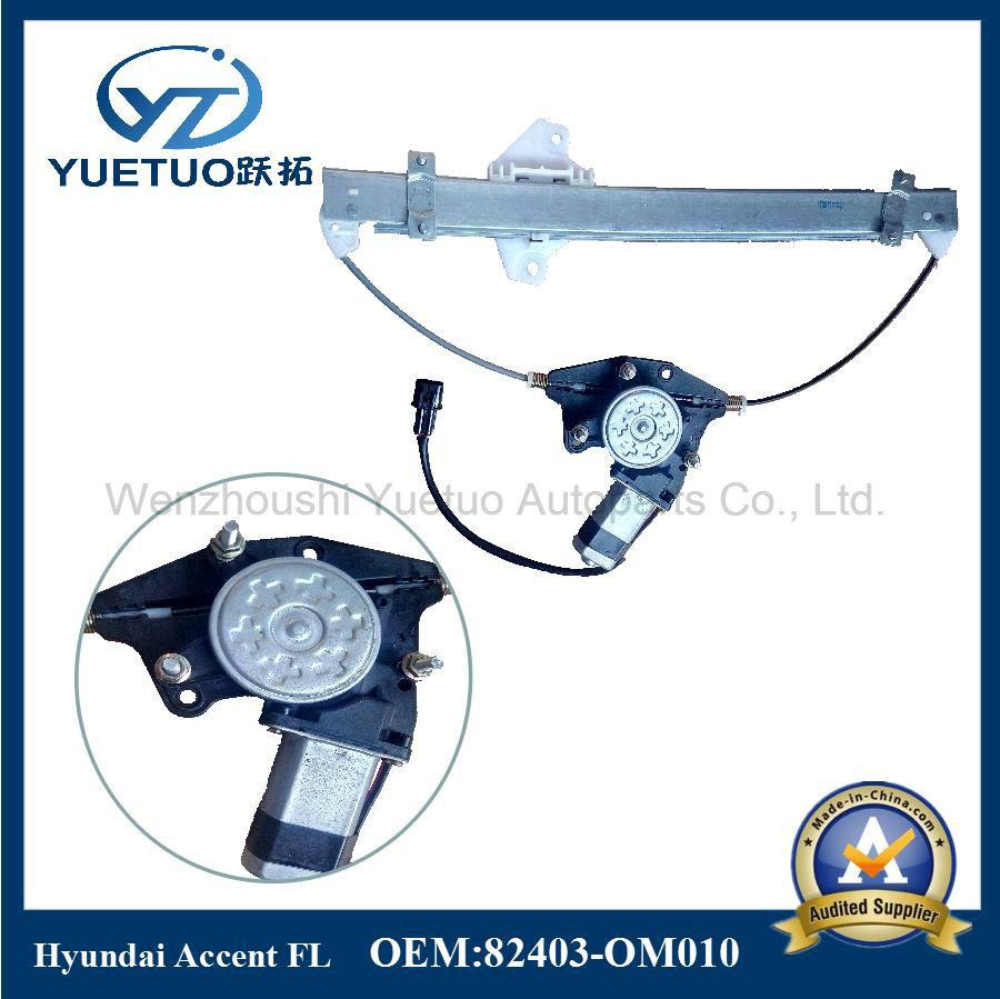Electric Window Regulator Accent Front Left OEM 82403-Om010