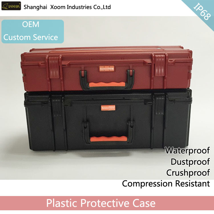 IP67 Long Waterproof Gun Case Telescope Case Detector Case