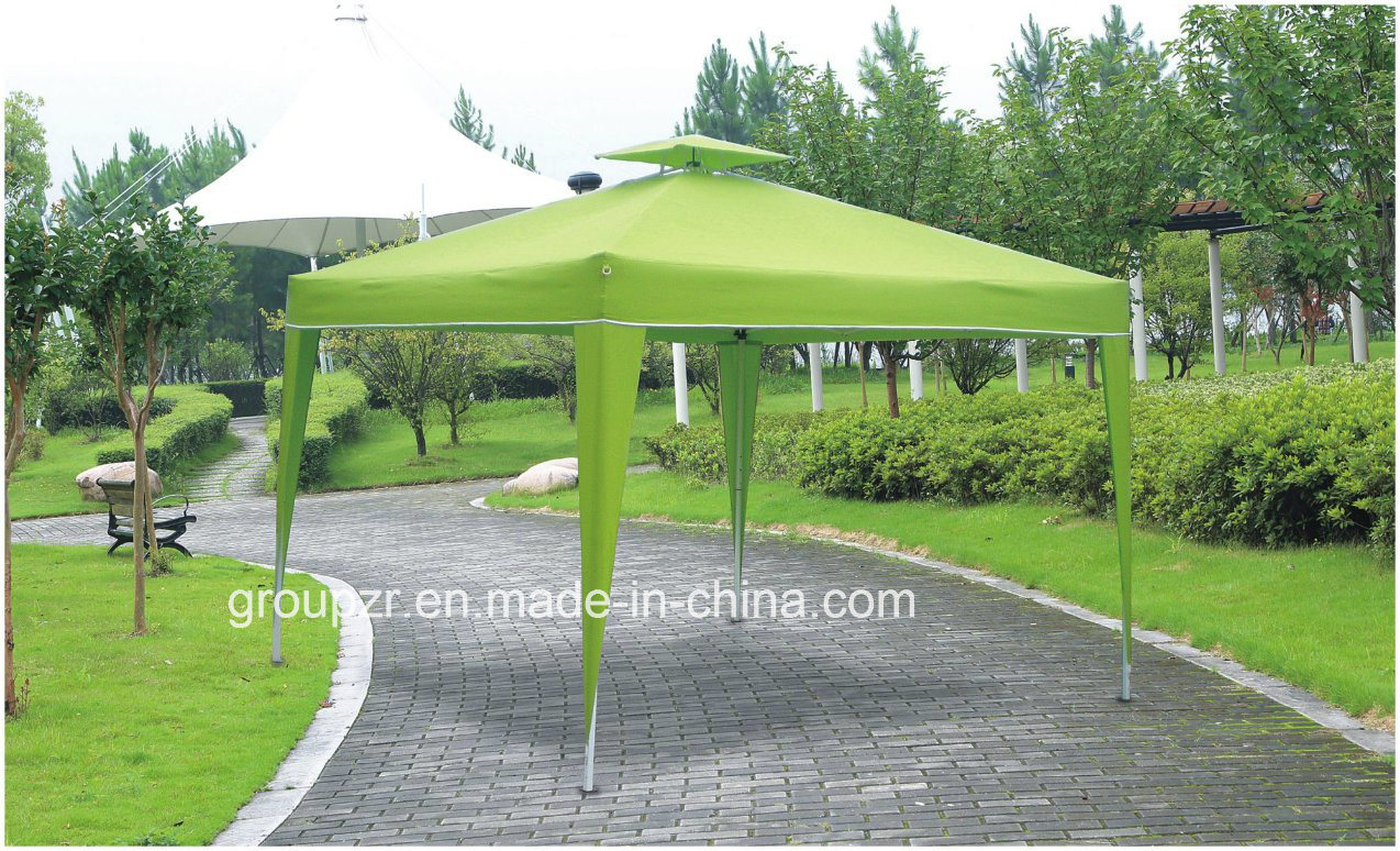 Folding Metal Outdoor Double Top Gazebo