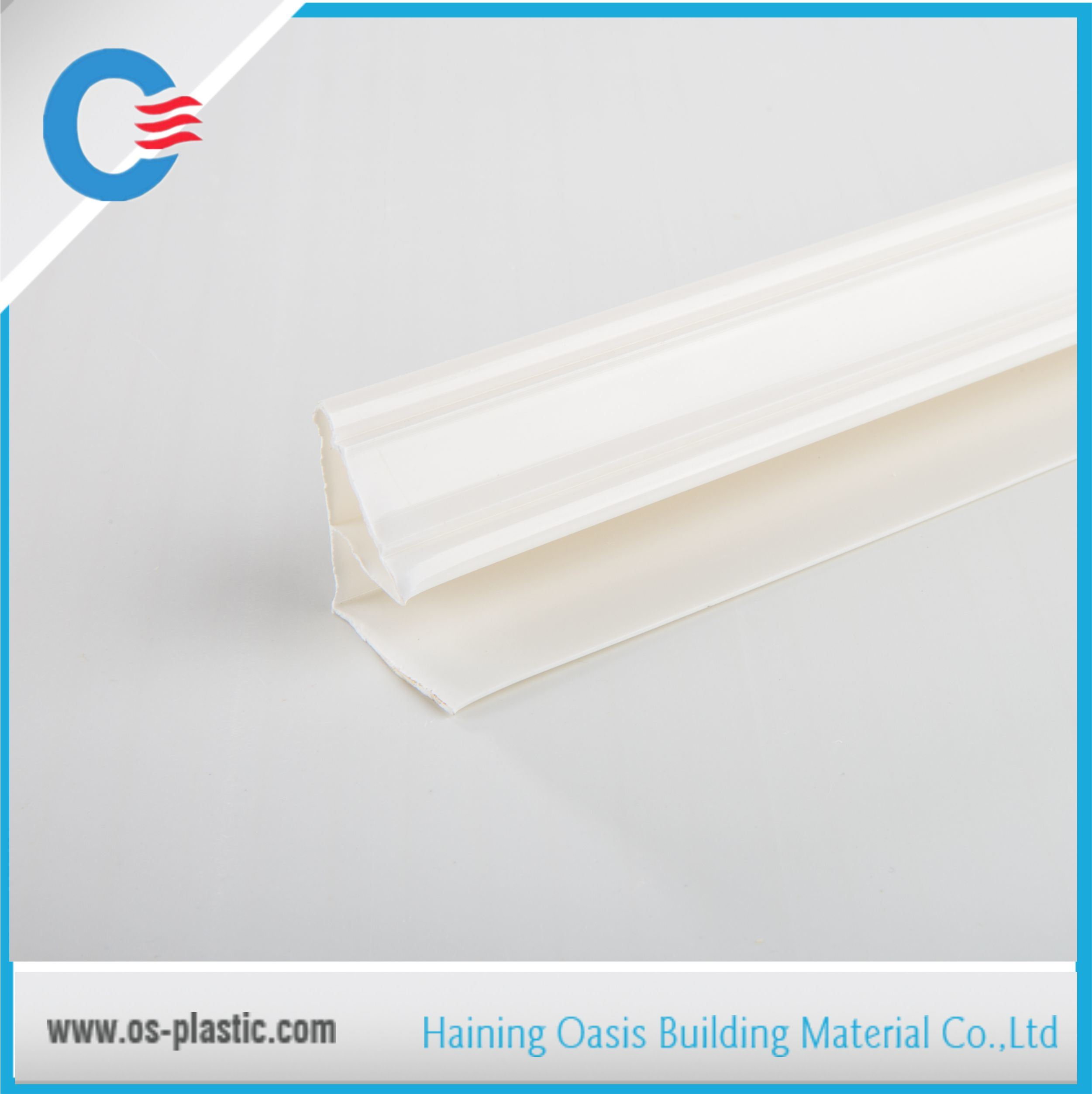 PVC Top Angle Accessory Profiles for PVC Ceiling Panel Installation