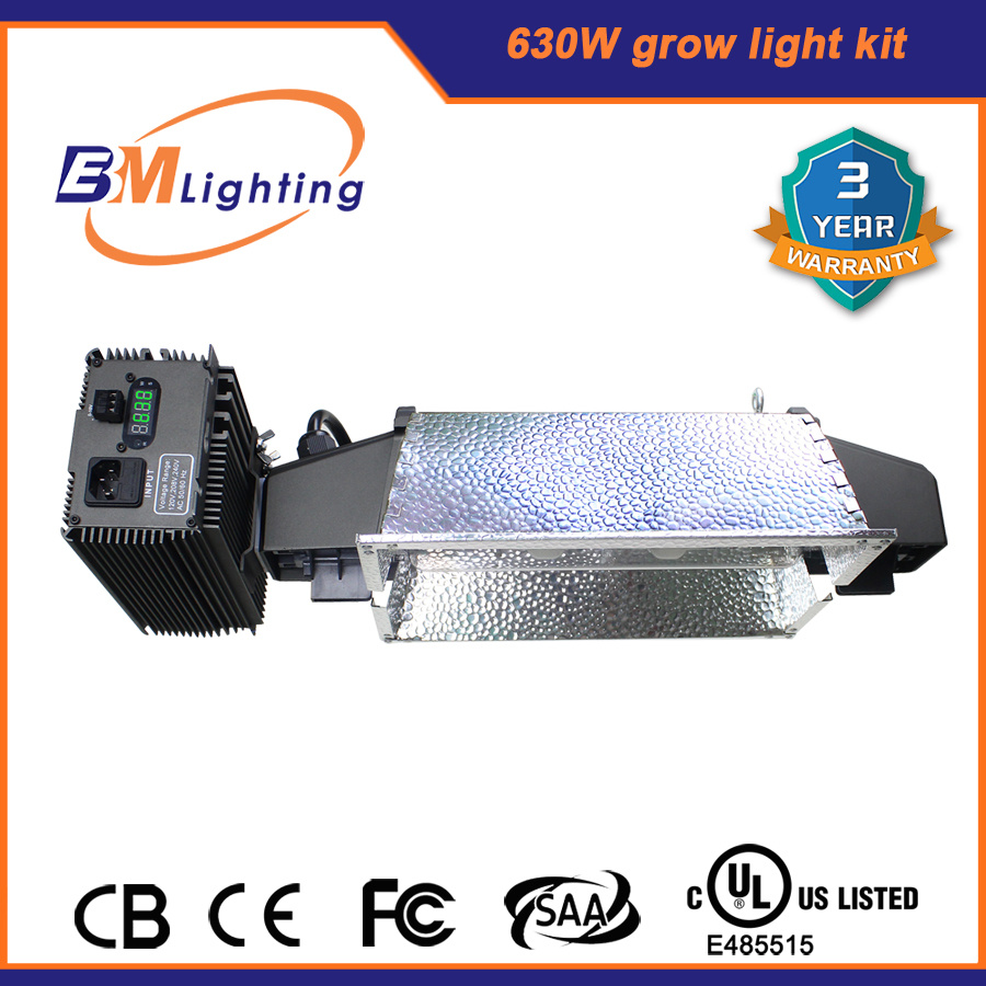 Guangzhou Manufacture 630W CMH 1000W HPS Digital Ballast Grow Light Electronic Ballast for Greenhouse