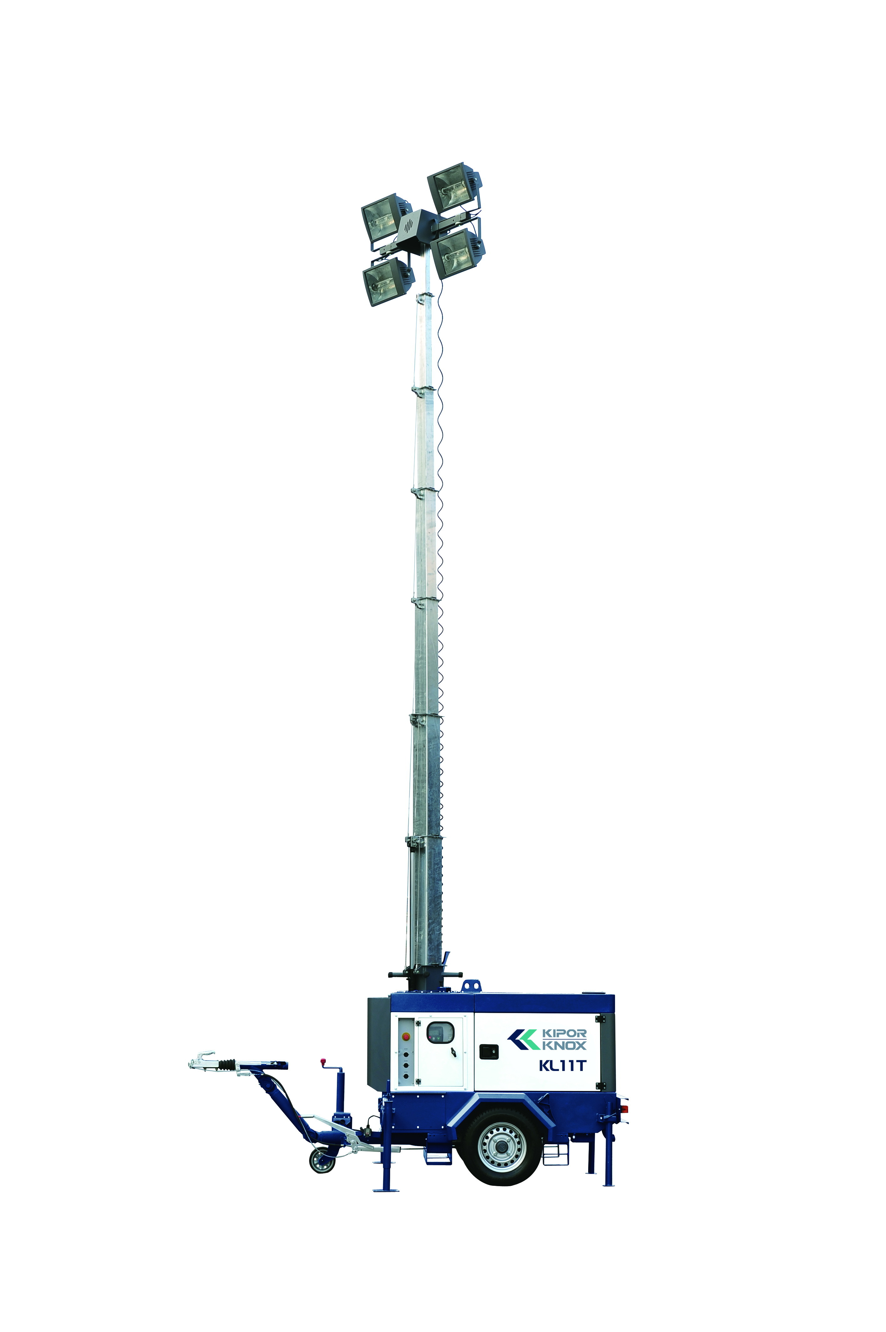 Kipor Diesel Generator Outdoor Lighting Tower Kl11t