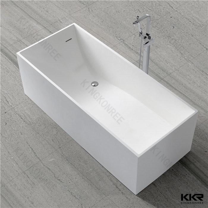 Sanitaryware Bathroom Accessories Solid Surface Freestanding Bathtub (170920)