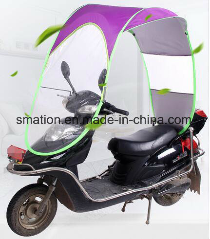 Anti-UV Electric Bicycle Bike Mobility Scooter Motorcycle Rain Sunshade Umbrella