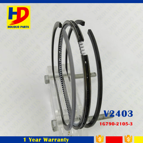 V2403 Cylinder Engine Piston Ring for Kubota Forklift Spare Parts (1G790-21053)