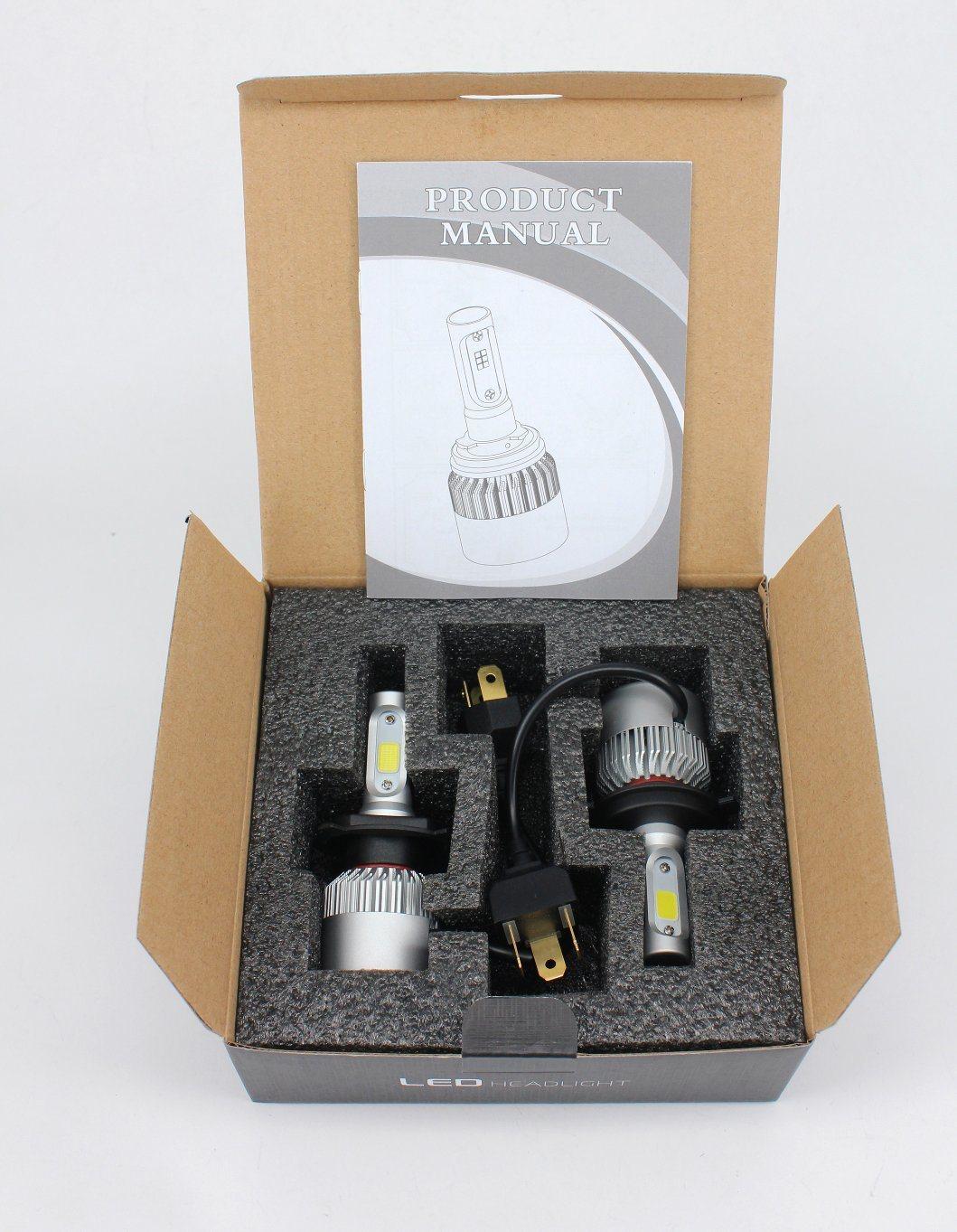 36W Car LED Headlight Car Accessories for Hyundai Peugeot Honda