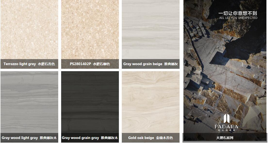 Italy Design Building Material Porcelain Full Body Copy Marble Tile 600*1200mm