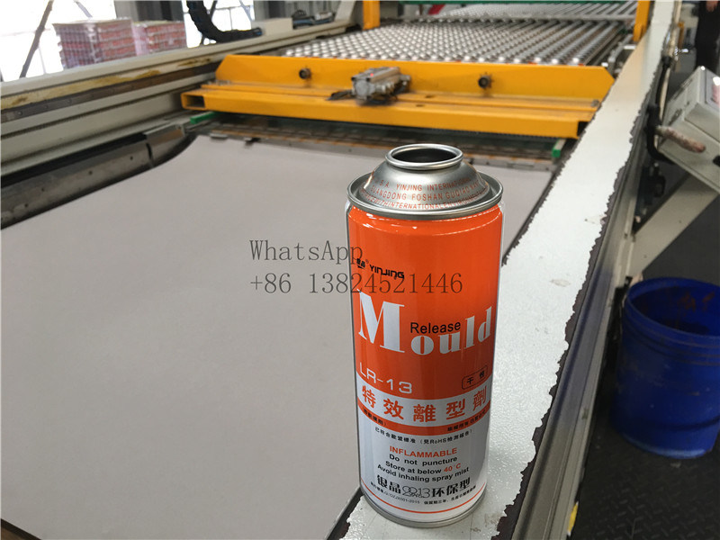 Empty Aerosol Can for Mould Release Agent