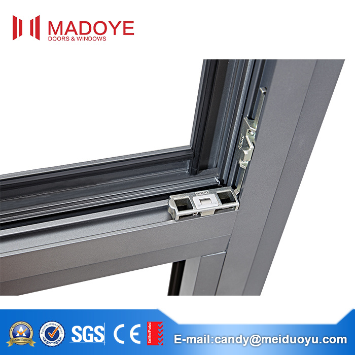 Various Specifications Aluminium Frame Flat Open Window