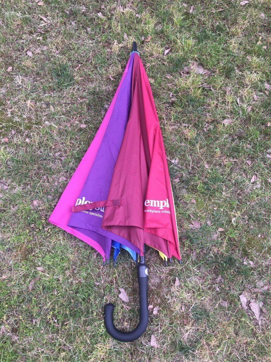 High Quality 30′′ Golf Umbrella with All Fiberglass Frame (BR-ST-200)