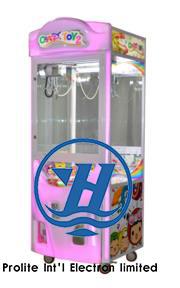 Popular Amusement Park Equipment Coin Pusher Claw Vending Game Machine (ZJ-CGA-4)